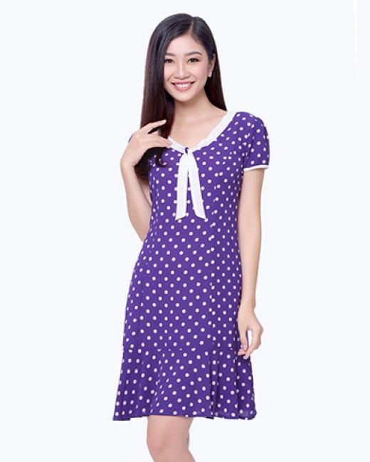 Đầm Đuôi Cá Phối Nơ Fashion Thương Hiệu Vĩnh Phát