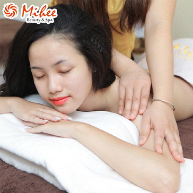 80' Xả Stress Với Massage Body + Ngâm Chân Thảo Dược Tại Mihee Spa