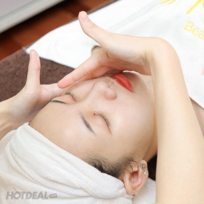Chăm Sóc Da Mặt + Đắp Mặt Nạ Ánh Sáng - Mihee Spa