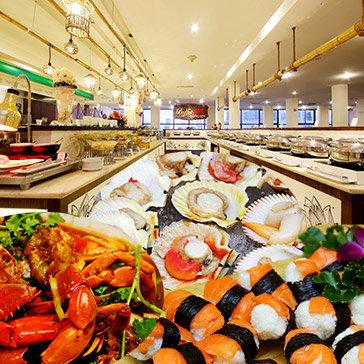 Buffet Gánh 3 Miền Buổi Tối Tại Lầu 5 Khách Sạn Palace