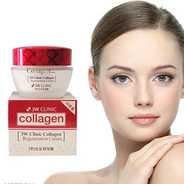 Kem Dưỡng Trắng Sáng Tái Tạo Da 3W Clinic Collagen Regeneration Cream