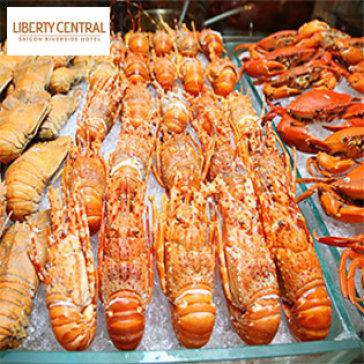 Buffet Tối Cuối Tuần Hải Sản Cao Cấp BBQ Không Giới Hạn - Nhà Hàng Central KS Liberty Central Saigon Riverside