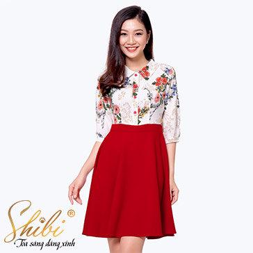 Đầm Công Sở Cao Cấp Shibi SB099
