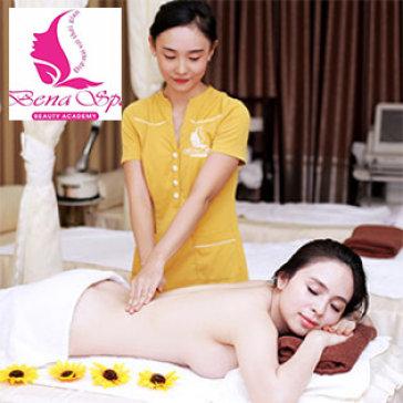 KM Sốc: 100 Phút Massage Body & Foot Đá Nóng, Chăm Sóc Da Bằng Mặt Nạ Ánh Sáng Sinh Học Tại Bena Spa 1