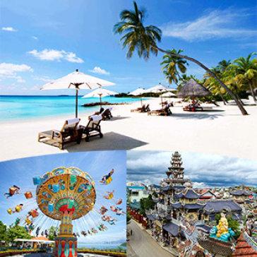 Tour Nha Trang – Đà Lạt 4N4Đ Nghỉ KS 2*, 3*- Vinpearl Land- Hòn Lao – Đảo Khỉ – Công Viên Phao Khổng Lồ
