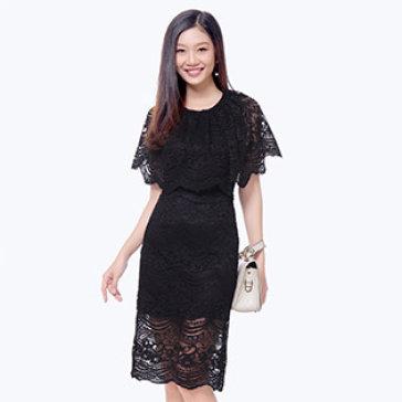 Đầm Ren Choàng Sang Trọng