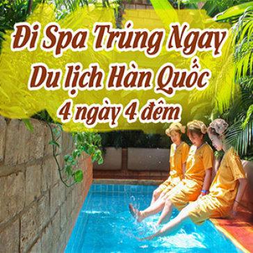 Combo Jjim Jil Bang + Chà Da + 1 Phần Nước - Golden Lotus Healing Spa World Q.3 – Trúng Vé Đi Hàn Quốc