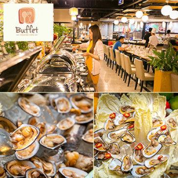 Hoàng Yến Buffet Tối Hải Sản Cuối Tuần T7-CN Hơn 80 Món Miễn Phí Kem Tươi Tại Zen Plaza