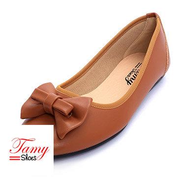 Giày Búp Bê Nơ Nẹp Ngang Tamy Shoes 04