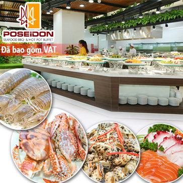 Buffet Poseidon - Buffet Lẩu Nướng & Hải Sản Đẳng Cấp Quốc Tế