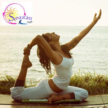 Sunlight Yoga - Trọn Gói 1 Tháng Tập Yoga Cùng Chuyên Gia Ấn Độ Không Giới Hạn Số Buổi Tập Và Không Bù Thêm Tiền
