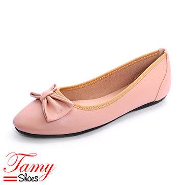 Giày Búp Bê Nơ Nhún Tamy Shoes 08