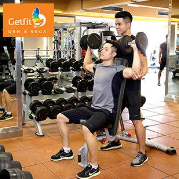 3 Tuần Tập Luyện Đẳng Cấp 5 * Tại Getfit Gym & Yoga
