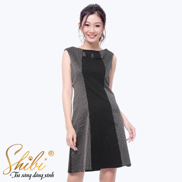 Đầm Công Sở Cao Cấp Shibi SB105