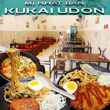 02 Món Mì Udon (Ramen) Bất Kỳ + 1 Gà Cay Phô Mai + 2 Nước Ngọt Tại Kukai Udon