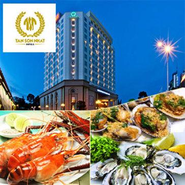 Buffet Tối Hải Sản Lẩu & Nướng Hơn 60 Món Tại Khách Sạn 5* Tân Sơn Nhất