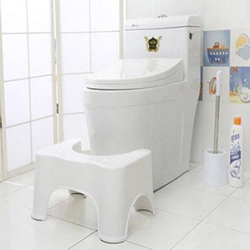 Ghế Kê Chân Toilet Ori Phòng Chống Bệnh Trĩ Và Ung Thư Đại Tràng