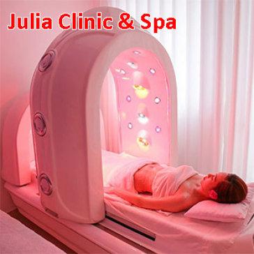 Tắm Trắng Toàn Thân Phi Thuyền Hoàng Gia Cao Cấp Công Nghệ Nano Vàng - Julia Clinic & Spa