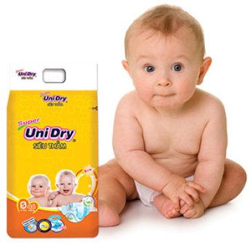 Tã Dán Unidry Size S46 (Cho Bé Từ 3-7 Kg)