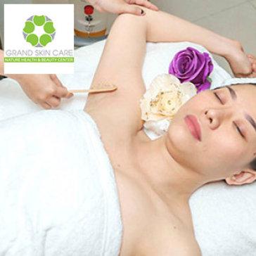 Grand Skin Care - Triệt Lông Vĩnh Viễn Diode Laser (10 Lần) - BH 10 Năm - Thương Hiệu Uy Tín SG
