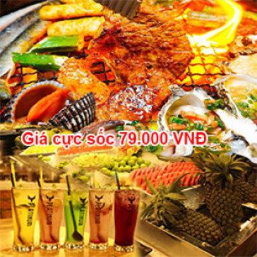 79.000 VNĐ/ Vé Buffet BBQ & Lẩu Không Giới Hạn Tại Nhà Hàng Những Chàng Trai