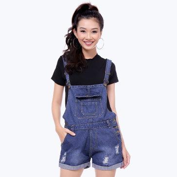 Yếm Short Jean Thời Trang