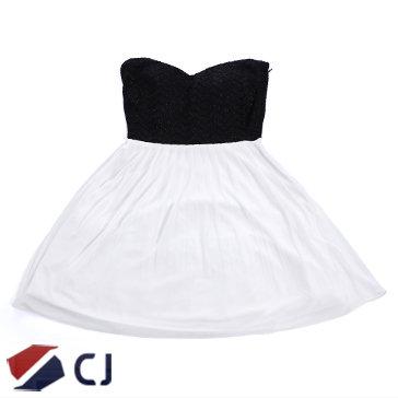 Đầm Bé Gái Cúp Ngực Kim Tuyến CJ