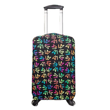 Túi Bọc Vali Thun Co Giãn Size 21-25 Inches Cách Điệu (Giặt Được)