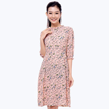 Đầm Vintage Tiểu Thư – Thương Hiệu Hiệp Vĩnh Phát