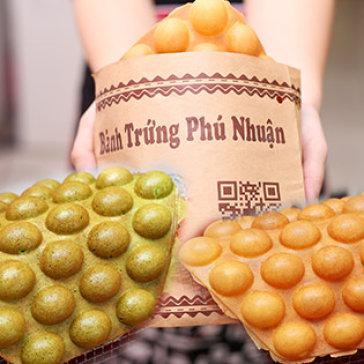 Combo 3 Bánh Trứng Gà Non Hong Kong Với 3 Vị Trà Xanh, Socola & Vani - Woa! Cake Bakery