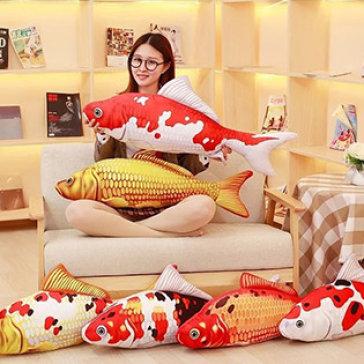 Gối Cá Chép KOI 3D 80cm