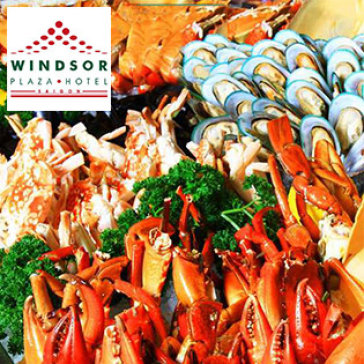 Windsor Plaza Hotel 5*- Buffet Trưa Thứ 7 & Chủ Nhật
