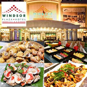 Windsor Hotel 5* - Buffet Trưa Thứ 2 Đến Thứ 6 Hải Sản Cao Cấp