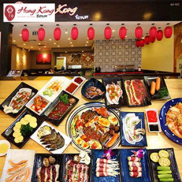 Buffet Trưa/Tối Bò Mỹ & Hải Sản Nướng Giá Sốc Tri Ân Khách Hàng Độc Nhất Tại Hong Kong Town