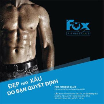 Fox Fitness - 01 Tháng Tập Gym, Yoga Không Giới Hạn Thời Gian