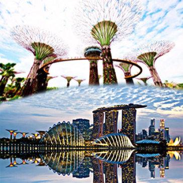 Tour Singapore – Indonesia – Malaysia 6N5Đ Khám Phá Vườn Thức Vật Garden By The Bays + Công Viên Sử Tử Biển + Đảo Batam Indo + Kuala Lumpur + Cao Nguyên Genting