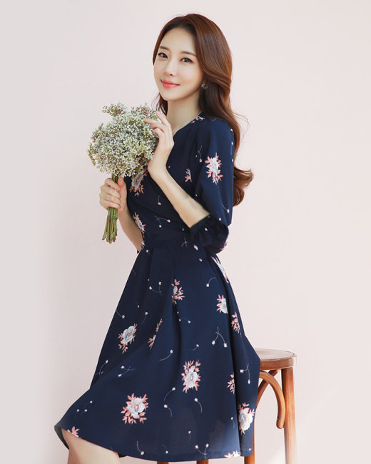 Mẫu váy in 3d đẹp