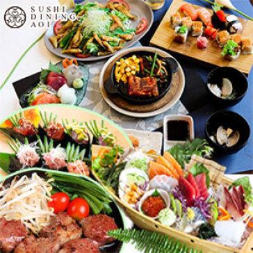 Buffet Tối Nhật Bản Trên 100 Món Sushi, Sashimi, Nướng & Lẩu Tại Sushi Dining Aoi