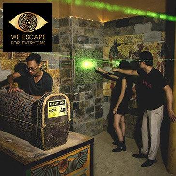 We Escape- Trò Chơi Nhập Vai Thực Tế 5D Hấp Dẫn, Kịch Tính