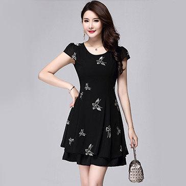 Đầm Lady Họa Tiết Bướm