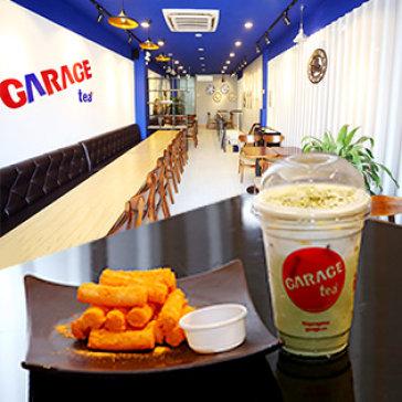 Combo Trà Sữa Hàn Quốc + Bánh Gạo Phô Mai Tại Garage Tea