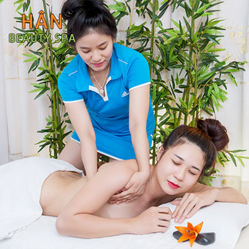 100' Massage Body, Foot Thái Đá Nóng/ Ủ Sữa Non + Trắng Mặt Nano - Hân Spa