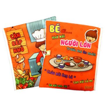 Sách Vải Căn Bếp Nhỏ Giúp Bé Phát Triển Tư Duy - Pipo