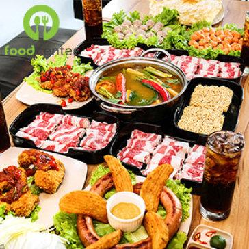 Hệ Thống Food House - Set Lẩu Thái Chua Cay + 4 Ly Pepsi Tươi Cho 3 - 4 Người