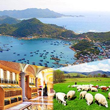 Tour Bình Ba - Phan Thiết - Lagi 3N3Đ - Nghỉ Resort 3* - Lâu Đài Rượu Vang - Nông Trại Cừu