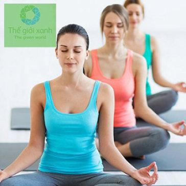 01 Tháng Tập Yoga Tại CLB Yoga Thế Giới Xanh