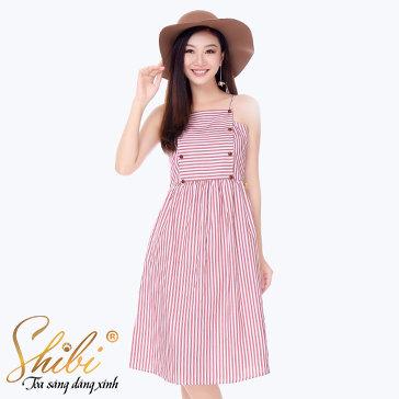 Đầm Dạo Phố Thời Trang Shibi SB117
