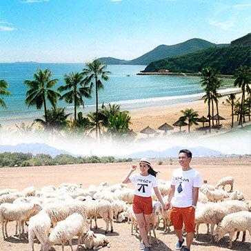 Tour Lagi - Dinh Thầy Thím - KDL Bình Châu- Đồi Cừu 2N1Đ – Nghỉ Resort Đất Lành 3*