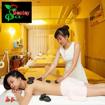 Set Spa 100' Gói 4 Dịch Vụ Cao Cấp: Xông Hơi + Tẩy TBC + Massage Body Thái + Tắm Dưỡng Body