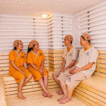 """Nghỉ Dưỡng Cùng Gia Đình """"Jjim Jil Bang-Morning"""" Hàn Quốc Tại Golden Lotus Healing Spa Land Q7"""